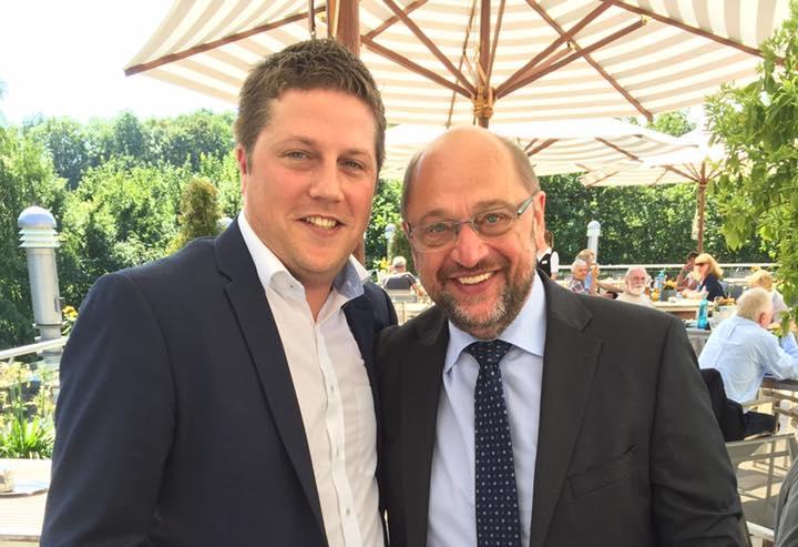 Sebastian Meisterjahn und Martin Schulz